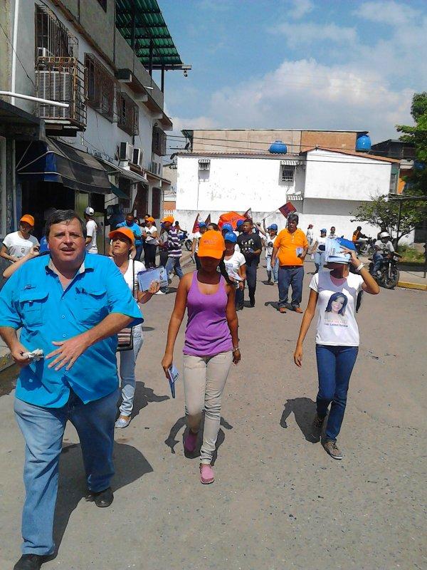 candidato principal del MAS por el circuito 1 del estado Aragua