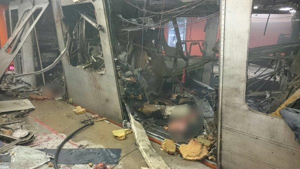 nb. Atentado terrorista de ISIS en el Metro de Bruselas