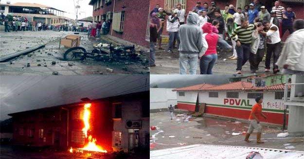 xai. Saqueados el PDVAL y el Palacio Municipal de Timotes, edo Trujillo.