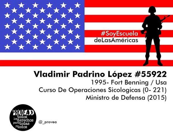 xb. Vladimir Padrino López y la Escuela de las Américas