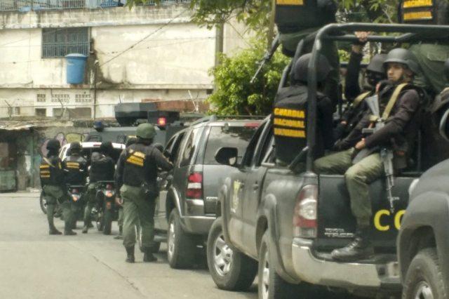 xdb. OLP en El Valle, Coche y Cota 905. Mas de 3.000 efectivos de la GN, PNB y el SEBIN